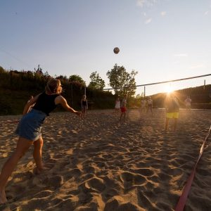 Beach Volley aktivitetrr Kragerø Resortø