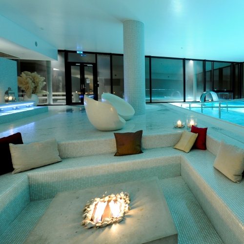 Termospa privat selskap i spa basseng