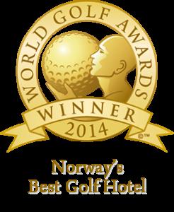 Kragerø Resort har blitt kåret til Norges beste golfhotell 2014!